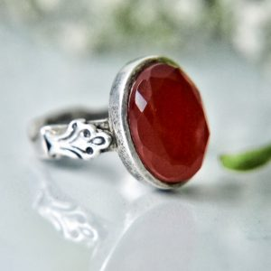 Red Agate (Aqeeq)