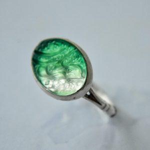 Green Agate - Ya Haidar
